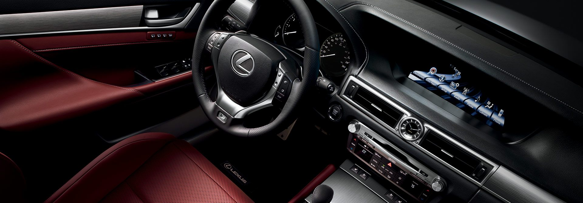Lexus GS F Sport Dash