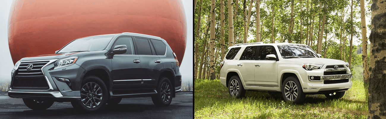 Lexus GX and Toyota 4Runner comparison in Calgalry